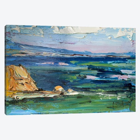 Pleasure Point II Canvas Print #LEL237} by Lisa Elley Canvas Wall Art