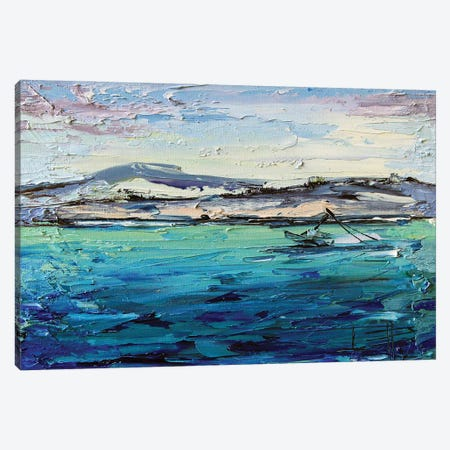 Lover's Point I Canvas Print #LEL243} by Lisa Elley Canvas Artwork