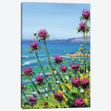 Forever In California Canvas Print #LEL251} by Lisa Elley Canvas Print