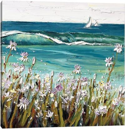 Coastal Irises Canvas Art Print