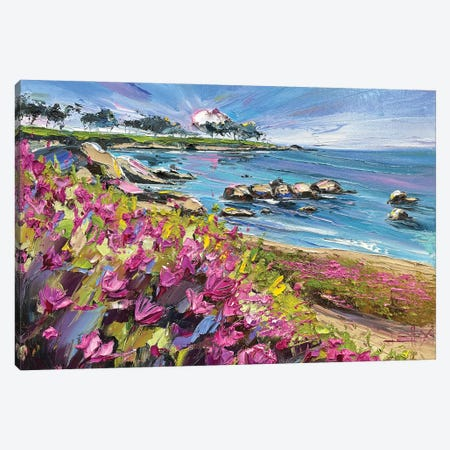 Pacific Grove, From My Heart Canvas Print #LEL268} by Lisa Elley Canvas Art