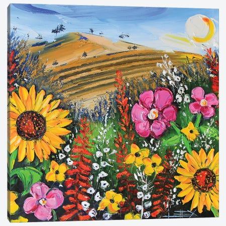 Duetto Canvas Print #LEL270} by Lisa Elley Canvas Art Print