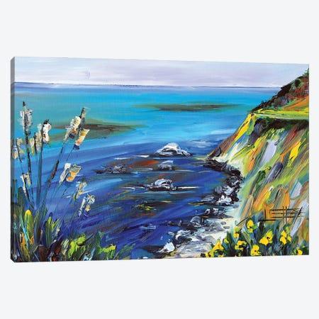 Monterey Bay II Canvas Print #LEL271} by Lisa Elley Art Print