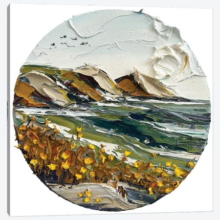 Point Sur, With Love Canvas Print #LEL273} by Lisa Elley Art Print