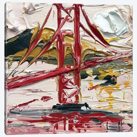 Van Gogh At The Golden Gate Canvas Print #LEL283} by Lisa Elley Canvas Wall Art