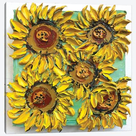Friendly Summer Canvas Print #LEL289} by Lisa Elley Canvas Wall Art