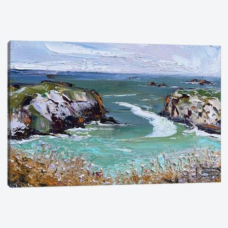 Mendocino Summer Canvas Print #LEL296} by Lisa Elley Canvas Wall Art