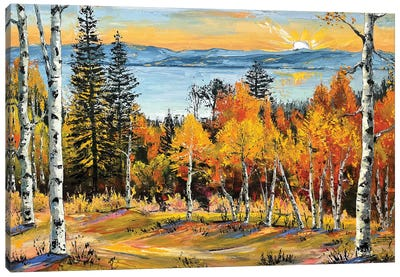 Tahoe Elegance Canvas Art Print