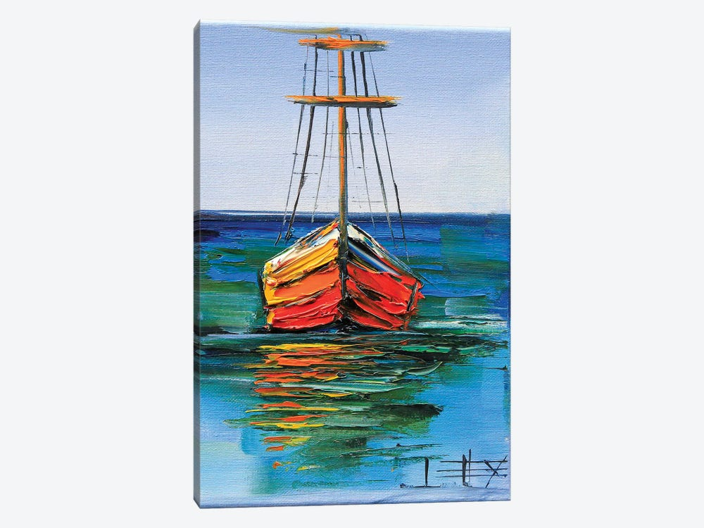 Boats Of Monterey by Lisa Elley 1-piece Art Print