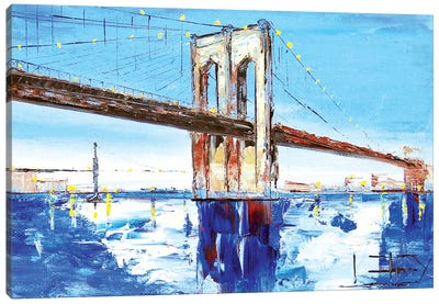 Brooklyn Bridge I Canvas Art Print
