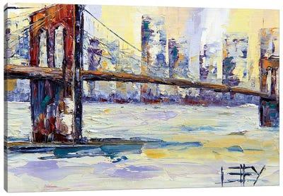 Brooklyn Bridge II Canvas Art Print