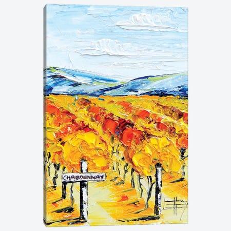 Chardonnay  Canvas Print #LEL43} by Lisa Elley Canvas Art