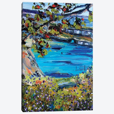 China Cove Canvas Print #LEL44} by Lisa Elley Canvas Print