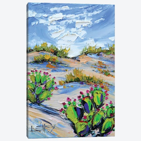 Desert Canvas Print #LEL49} by Lisa Elley Canvas Art