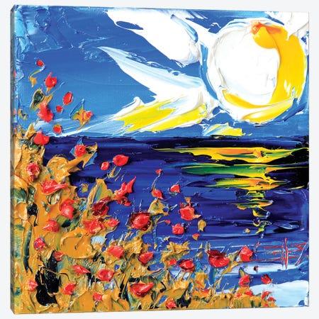Dusk In Monterey Canvas Print #LEL50} by Lisa Elley Canvas Print