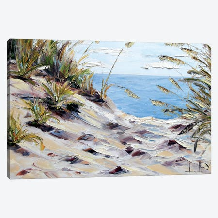 Beach  Canvas Print #LEL51} by Lisa Elley Art Print