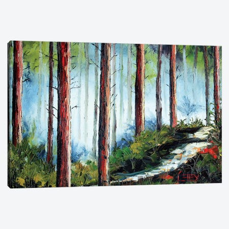 Edwoods Canvas Print #LEL52} by Lisa Elley Canvas Print