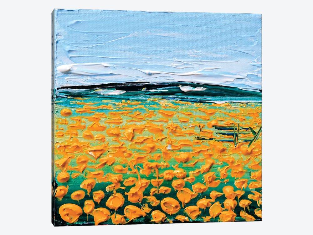 Field Of Poppies by Lisa Elley 1-piece Art Print