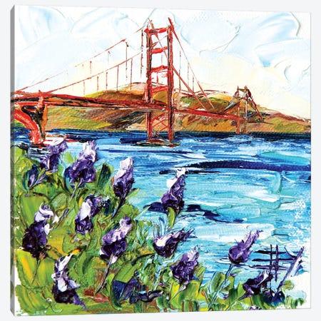 Golden Gate Bridge II Canvas Print #LEL64} by Lisa Elley Canvas Print