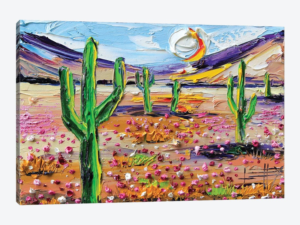 Desertscape by Lisa Elley 1-piece Canvas Wall Art