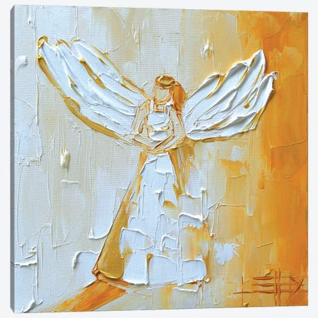 Angel Canvas Print #LEL7} by Lisa Elley Canvas Print