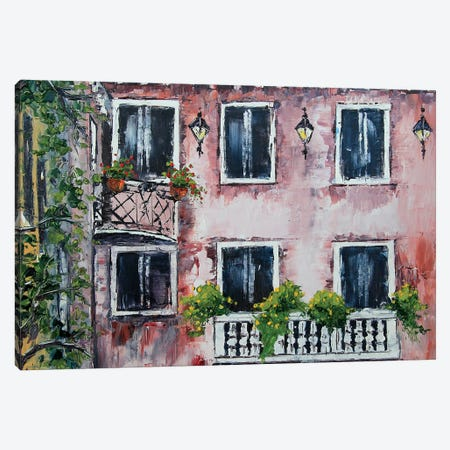 Italy IV Canvas Print #LEL82} by Lisa Elley Canvas Artwork