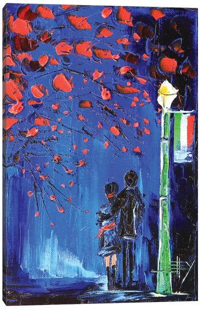 Italy Stroll Canvas Art Print