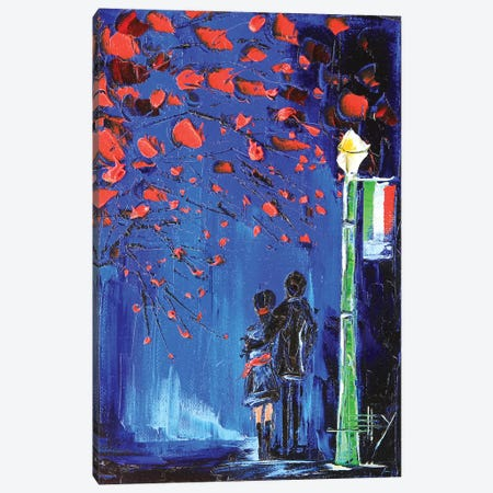Italy Stroll Canvas Print #LEL85} by Lisa Elley Canvas Print