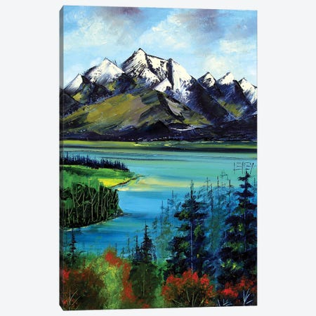 Aoraki  Canvas Print #LEL8} by Lisa Elley Canvas Artwork