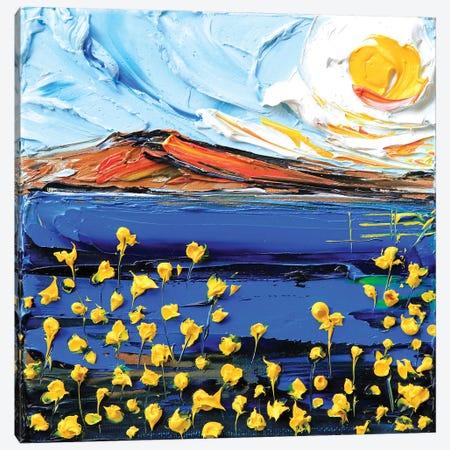 Magic Of The Bay Canvas Print #LEL91} by Lisa Elley Art Print