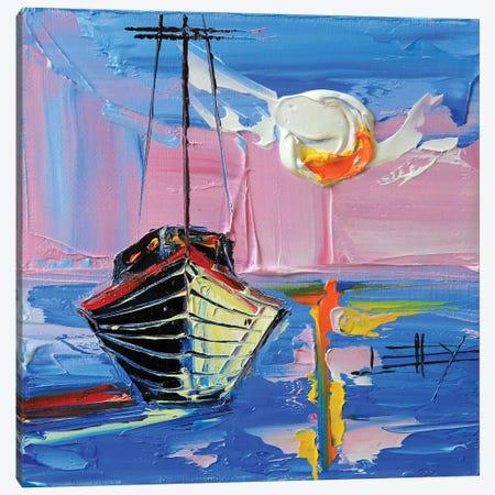 Monterey Sunset Canvas Print #LEL98} by Lisa Elley Canvas Art Print