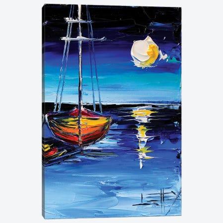 Moonlit Dream Canvas Print #LEL99} by Lisa Elley Art Print