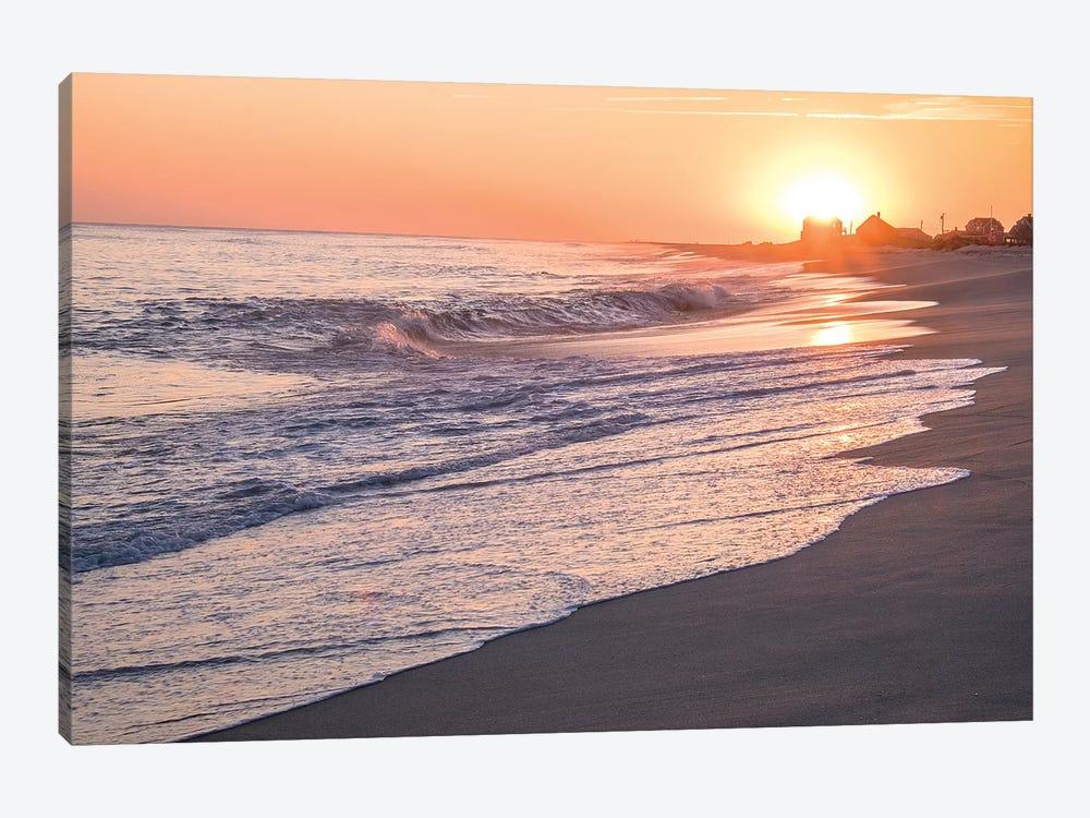 Sunset, Madaket Beach, Nantucket, Massachusetts, USA by Lisa S. Engelbrecht 1-piece Canvas Wall Art