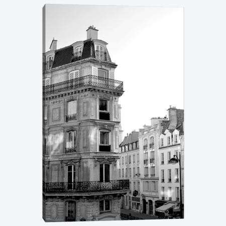 Parisian Stroll I Canvas Print #LER100} by Sharon Chandler Canvas Art Print