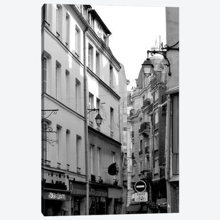 Parisian Stroll III Canvas Print #LER102} by Sharon Chandler Art Print