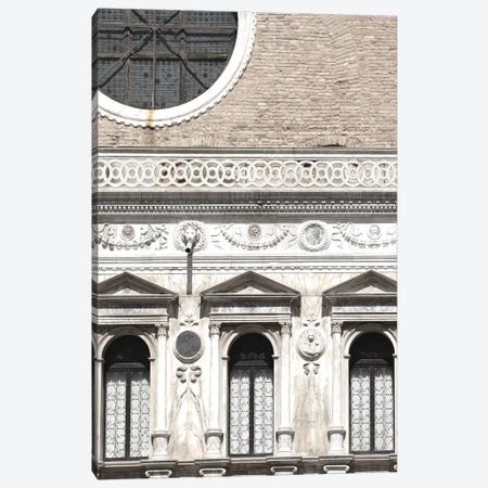 Venetian Facade Photos I Canvas Print #LER107} by Sharon Chandler Canvas Art