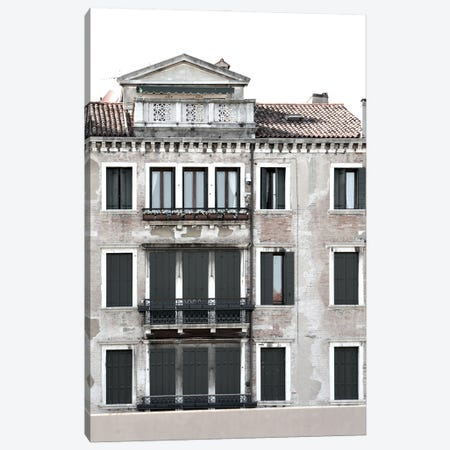 Venetian Facade Photos II Canvas Print #LER108} by Sharon Chandler Art Print