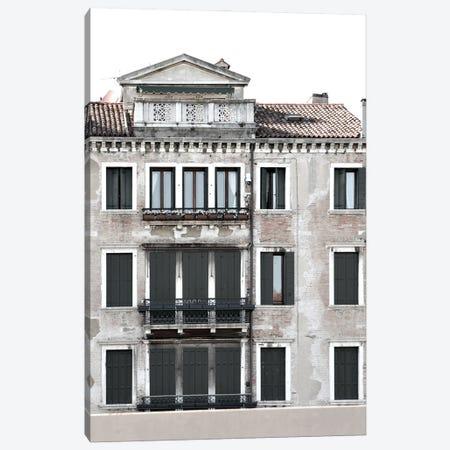 Venetian Facade Photos II Canvas Print #LER108} by Sharon Chandler Art Print