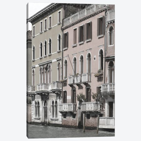 Venetian Facade Photos IV Canvas Print #LER110} by Sharon Chandler Canvas Art