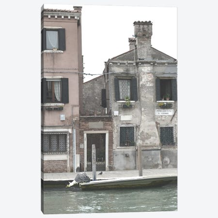 Venetian Facade Photos V Canvas Print #LER111} by Sharon Chandler Canvas Wall Art
