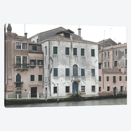 Venetian Facade Photos VI Canvas Print #LER112} by Sharon Chandler Canvas Art