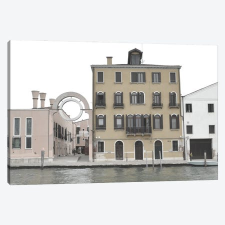Venetian Facade Photos VII Canvas Print #LER113} by Sharon Chandler Canvas Artwork