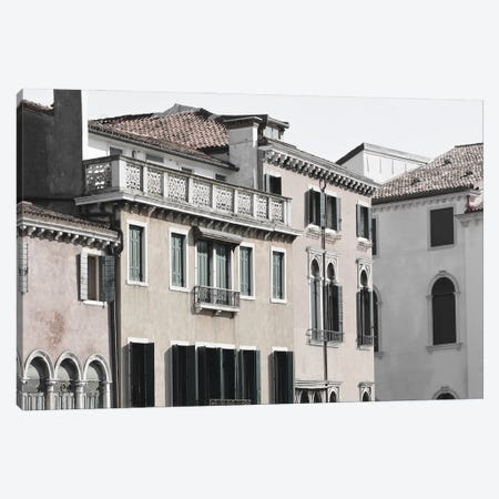 Venetian Facade Photos VIII Canvas Print #LER114} by Sharon Chandler Canvas Print