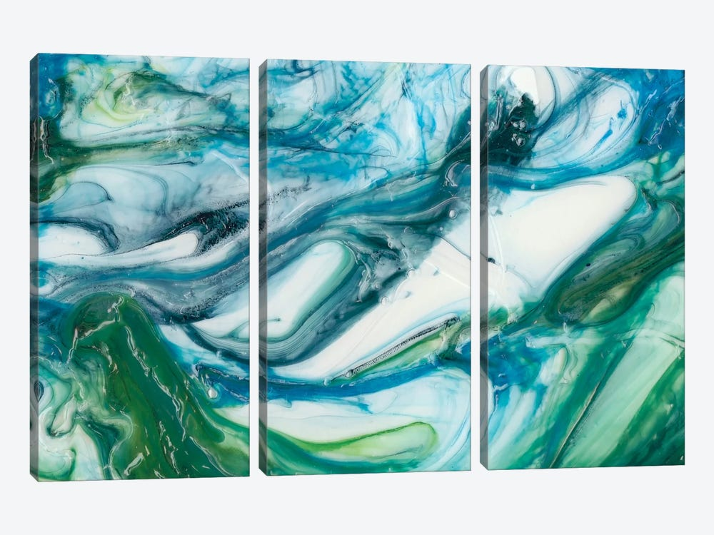 Tidal Sweep II by Sharon Chandler 3-piece Canvas Artwork