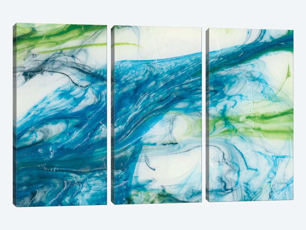 Tidal Sweep III by Sharon Chandler 3-piece Art Print