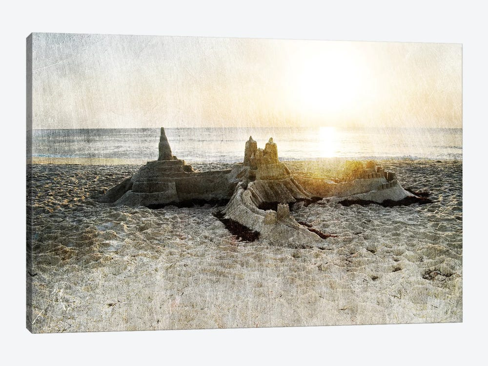 Sand Castle I by Sharon Chandler 1-piece Art Print
