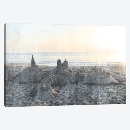 Sand Castle II 3-Piece Canvas #LER31} by Sharon Chandler Canvas Art Print