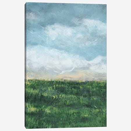 Verdant Fields I Canvas Print #LER54} by Sharon Chandler Canvas Artwork