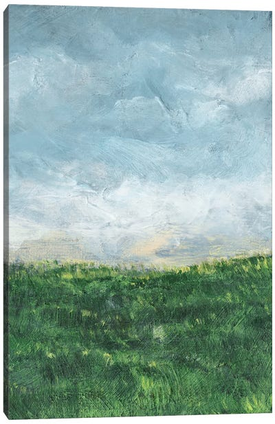 Verdant Fields II Canvas Art Print