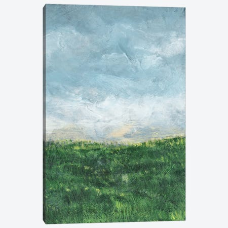 Verdant Fields II Canvas Print #LER55} by Sharon Chandler Canvas Wall Art